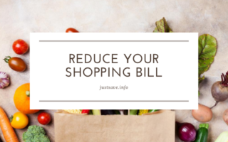 Reduce Your Shopping Bill