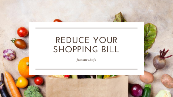 REDUCE YOUR SHOPPING BILL: 20 WAYS TO SAVE MONEY ON GROCERIES