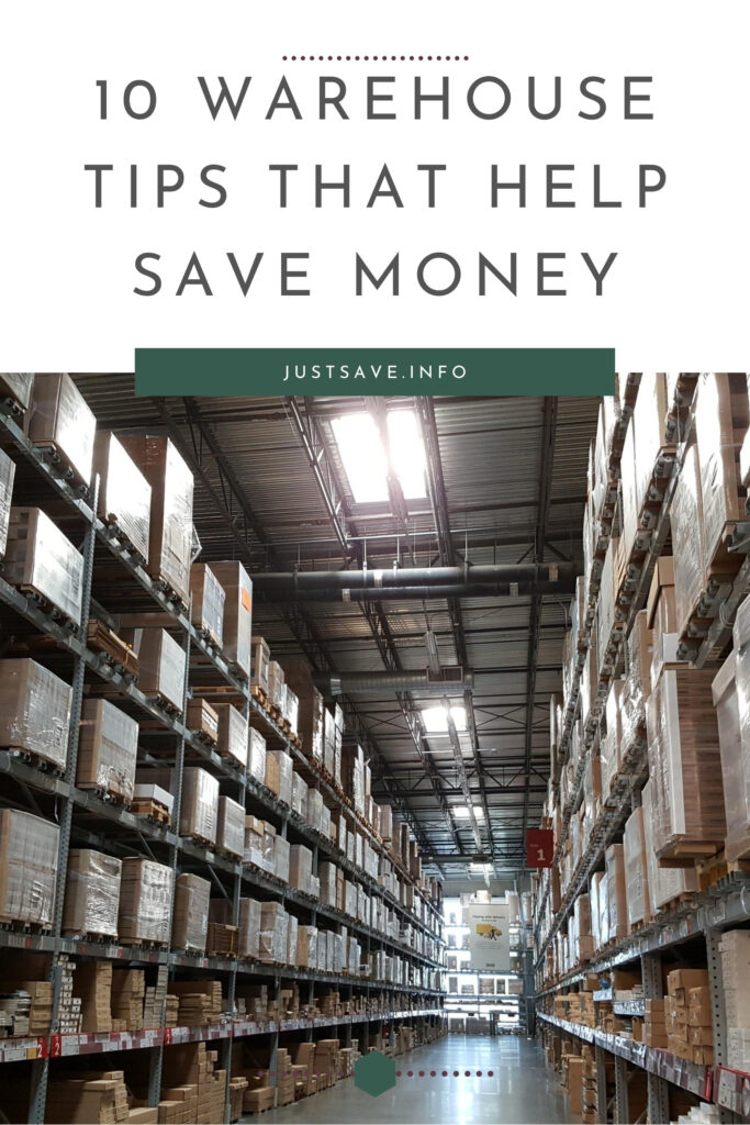 10 Warehouse Tips That Help Save Money