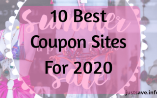 10 Best Coupon Sites For 2020