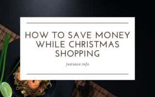 How to Save Money While Christmas Shopping