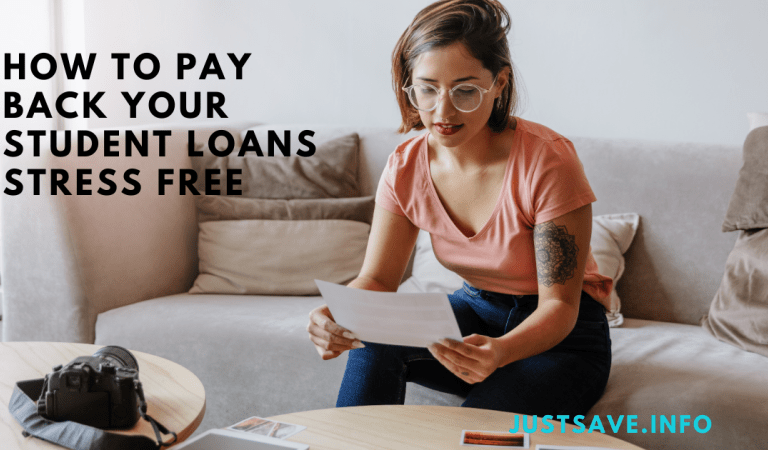 How to Pay Back Your Student Loans Stress-Free