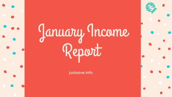 How I Made $27.18 Blogging This Month| January Income Report