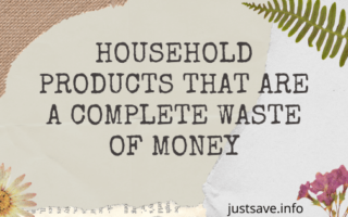 Household Products That Are A Complete Waste Of Money