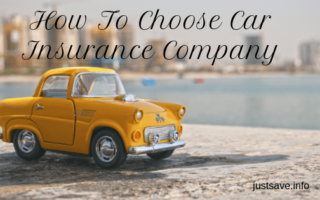 How To Choose Car Insurance Company