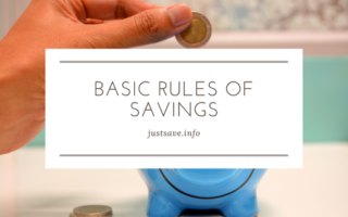 5 Basic Rules Of Savings