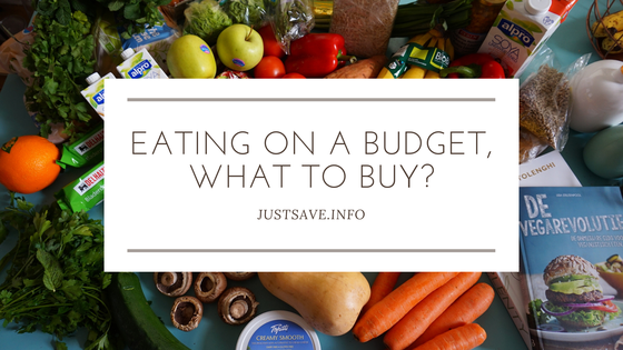 EATING ON A BUDGET, WHAT TO BUY?