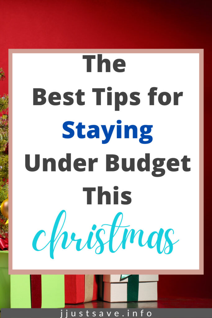 Best Tips for Staying Under Budget This Christmas
